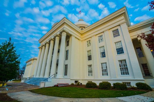 Alabama State Capitol Exterior