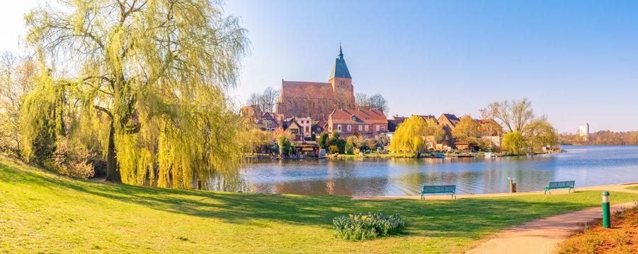 The city of Mölln, Germany