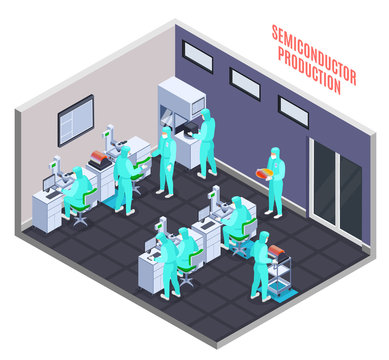Semicondoctor Production Concept