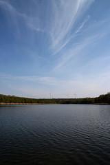 Ein See in Zschornewitz