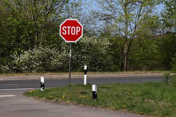 Ein Stopschild