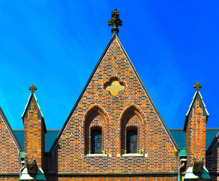 germany,hambourg: saint peter's church