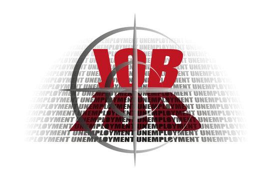 Empleo frente al desempleo.