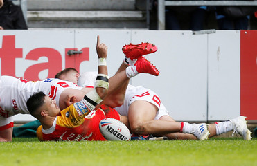 Super League - St Helens v Catalans Dragons