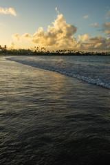 Beaches of Brazil - Sunset at Porto de Galinhas - Ipojuca, Pernambuco