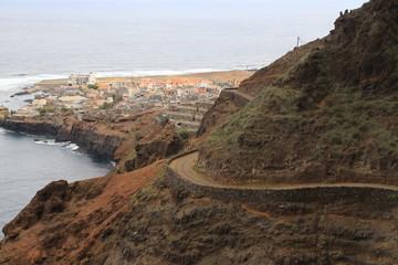 Blick auf Ponta do Sol, Kap Verden