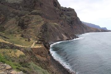 Verlassenes Dorf im Tal von Aranhas, Kap Verden