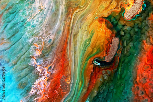 Epoxy Resin Petri Dish Art
