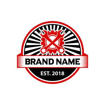 logo badge engine repair