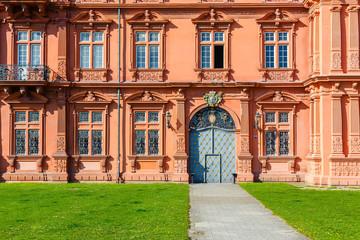 Mainz, Kurfürstliches Schloss, dem Rhein zugewandte Seite. 21.04.2019.