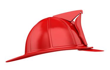 Firefighter Helmet Isolated