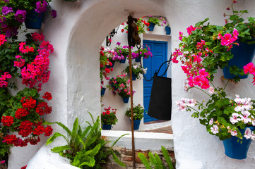 Festival of the Courtyards, Cordoba, Spain