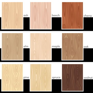 Seamless stylized veneers of different types