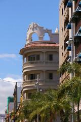 Street style and architecture of Santa Cruz (Tenerife), Canary Islands