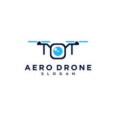 aero drone photography logo design