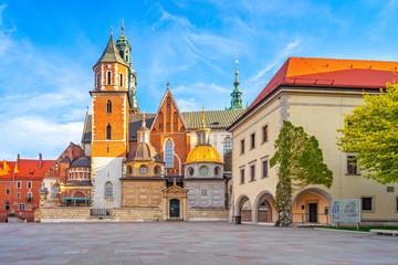 Obraz Wawel o świcie, Kraków - fototapety do salonu