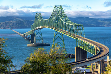 Beautiful Astoria Megler Bridge View