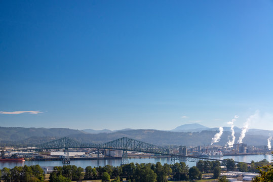 Lewis and Clark Bridge View