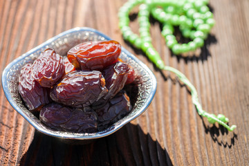 Date fruits in a bowl