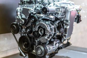 detail of engine Fotomurales