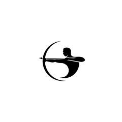 archer logo vector icon design