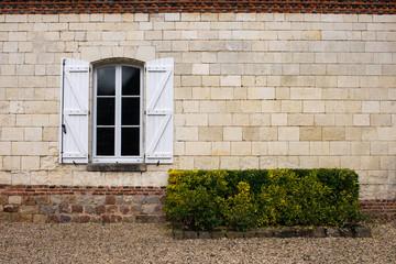 Window Brick Wall