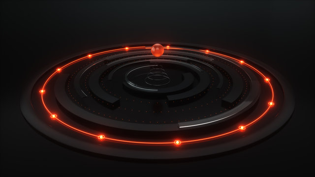 broadcast futuristic circles