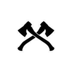Axe flat icon. Vector eps10