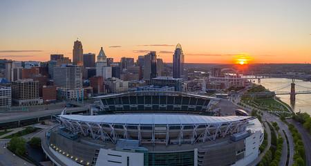 Morning in Cincinnati