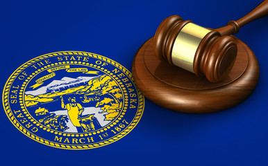 Nebraska Legal System And Law Concept