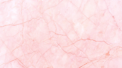 Close up of pink marble texture for a background.