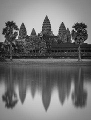 Famous Angkor Wat Temple, Siem Reap, Cambodia