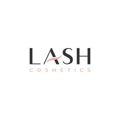 lash type logo design