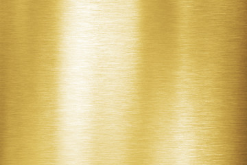 Wall Mural - Gold metal brushed texture or background