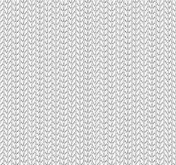 Knitting vector pattern. Vector texture seamless pattern. White knit texture seamless pattern. Vector seamless background