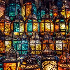 Photo Blinds Egypt muslim style's lantern shining