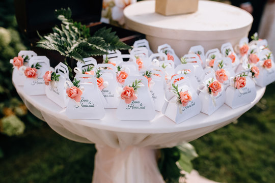 Cute bonbonniere for the wedding guests