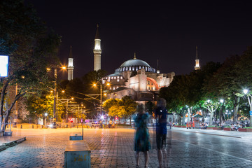 Fotomurales - Hagia Sophia (Aya Sofia) - Istanbul, Turkey