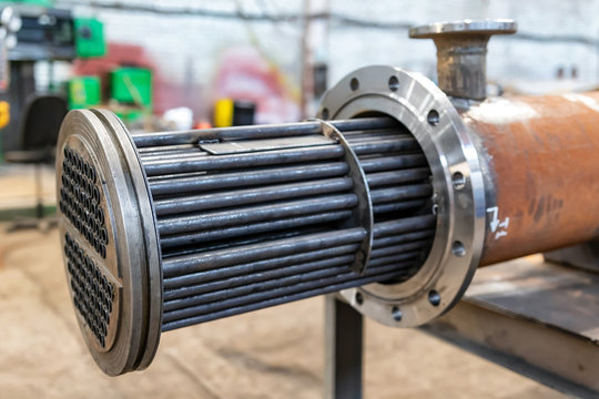 Manufacture of a new heat exchanger with tube bundle