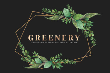 Greenery wallpaper