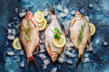 Whole Breams with Lemon and Herbs