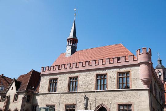 Altes Rathaus in der Stadt Göttingen in Niedersachsen