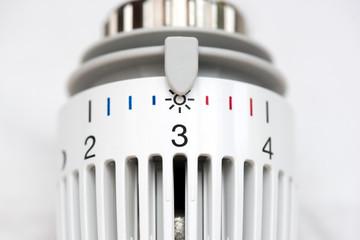 Thermostat - Einstellung - Drei