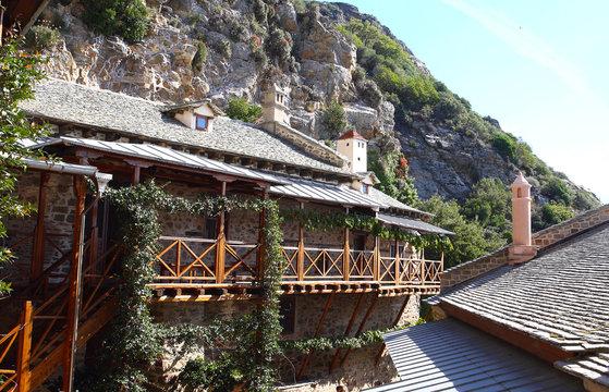 Christian Orthodox Monastery of Simonos Petras, Holy Mount Athos, Greece