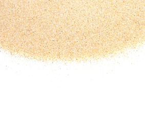 Fototapete - closeup of sand background pattern of a beach in the summer