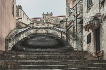 Walk of shame stairs. Dubrovnik/ Game Of Thrones