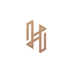 Premium Letter H Logo - Vector logo template
