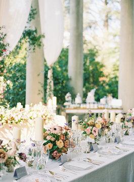 Garden Wedding Outdoors
