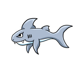 Cute Stylized Big Shark