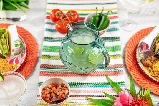 Mexican food and margaritas for Cinco de Mayo